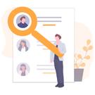 Icono búsqueda de partners y candidatos