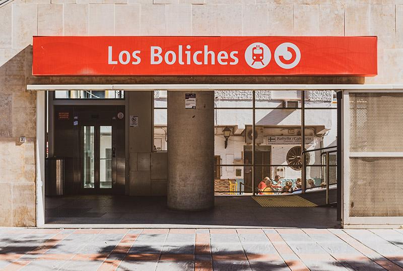 Estación de Renfe en Los Boliches, Fuengirola