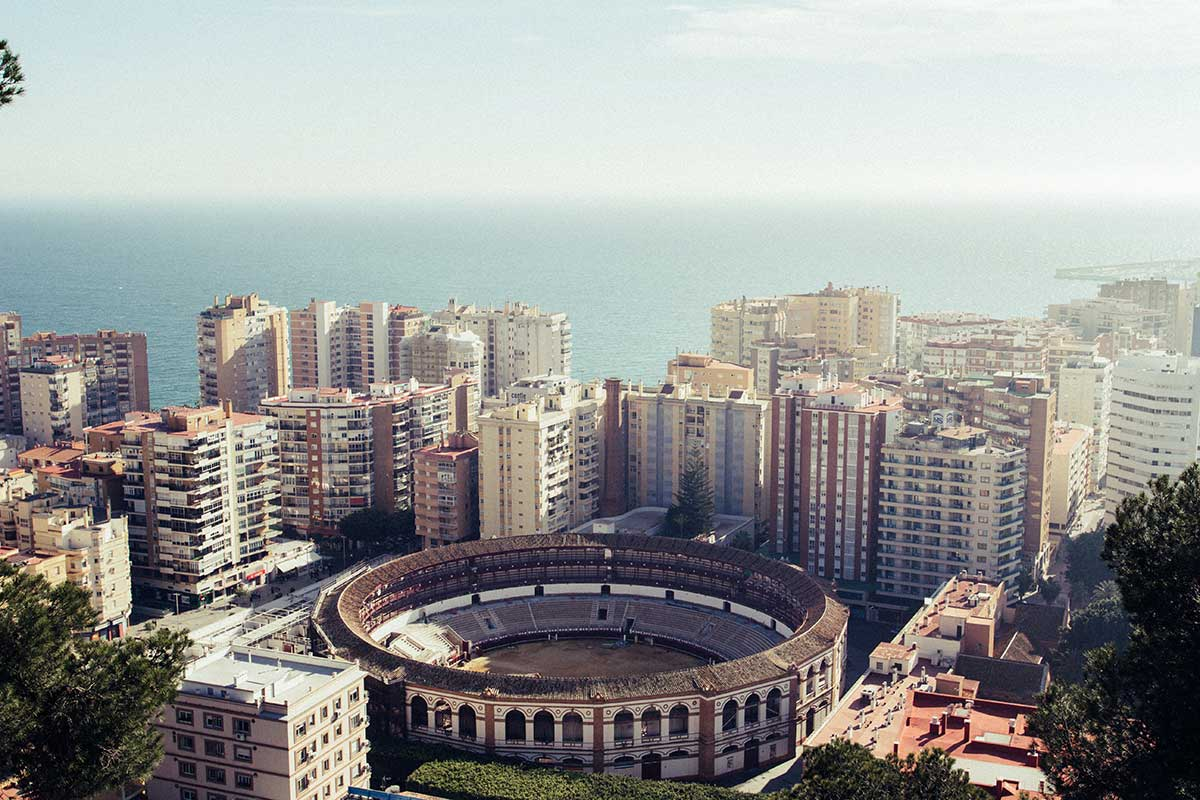Panorámica de Málaga - Costa del Sol